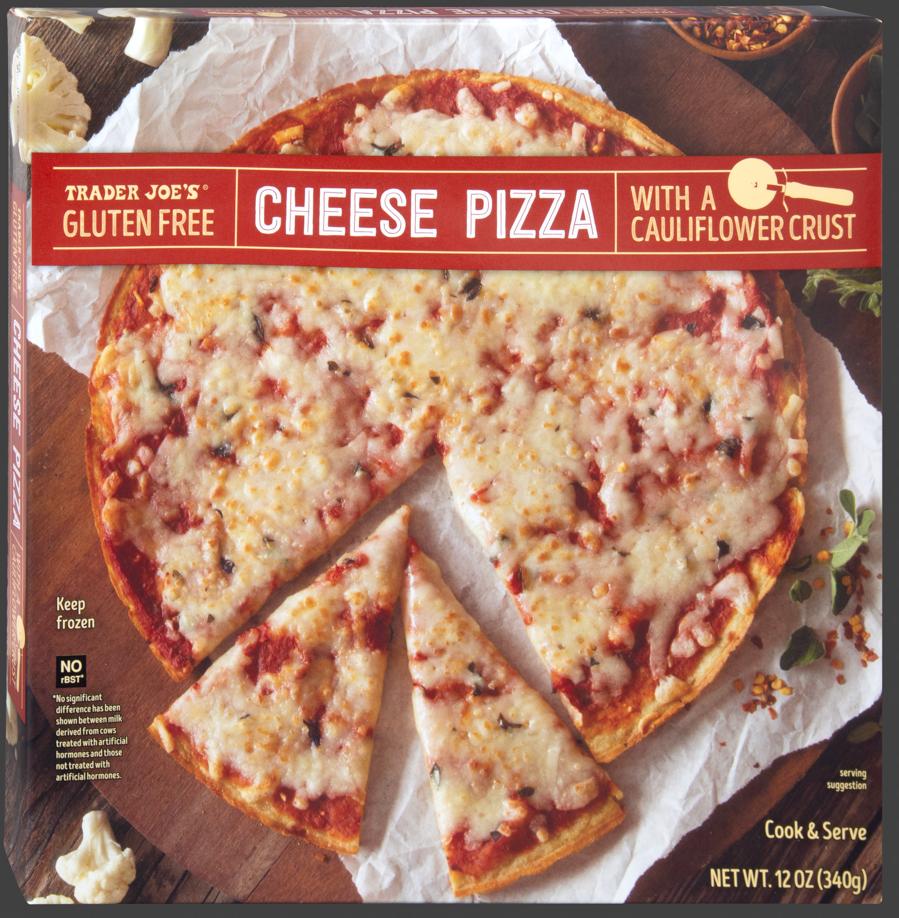 Gluten Free Cheese Pizza With A Cauliflower Crust
