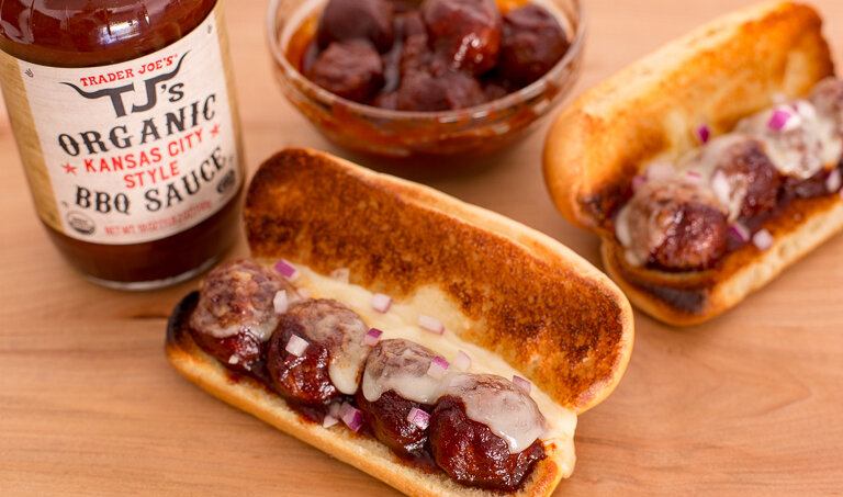 Meatless Meatball BBQ Subs picture